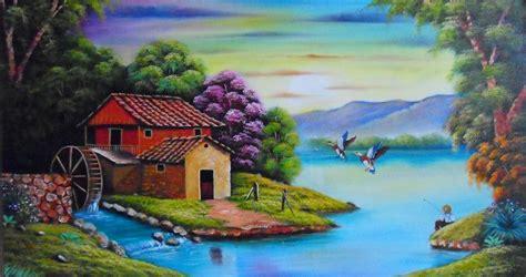 imagenes artisticas de paisajes imagenes de paisajes faciles para dibujar con color imagui