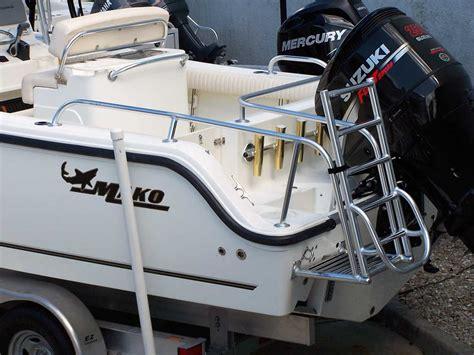 build your own boat swim platform custom dive swim platforms by action welding cape coral