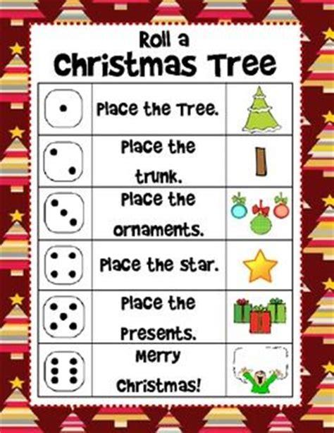 printable dice christmas game trees christmas trees and student on pinterest