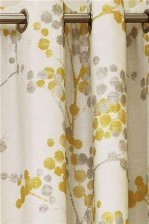 yellow  gray curtain panels elissia  yellow