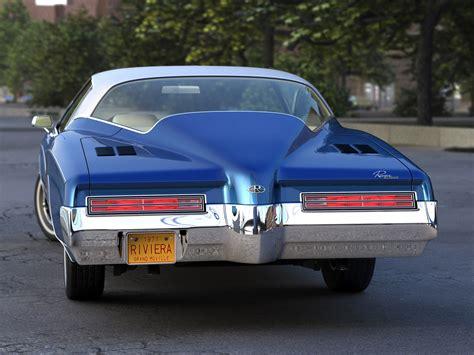 buick rivera buick riviera 1971 3d model vehicles 3d models automobile
