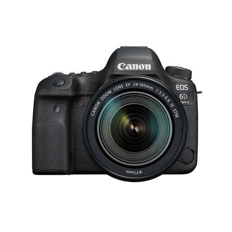 canon eos 6d ii dslr ef 24 105mm is stm lens kit
