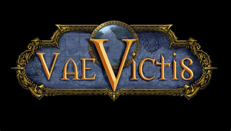vae victus wow guild logo vae victis by ronime on