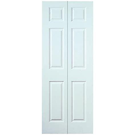 Interior Doors Wickes Wickes Woburn Bi Fold Door White Smooth Moulded 6 Panel 1981x762mm Wickes Co Uk