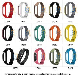 Mijobs Silicone Rubber For Mi Band 2 Oled Lcd Original Jual Replacement Gelang Silicon Original Mijobs For