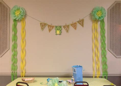 Frog Baby Shower Decorations by Frog Theme Baby Shower Decorations Babyshowerrrrr