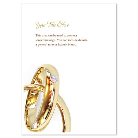 wedding ring templates free wedding rings invitations cards on pingg