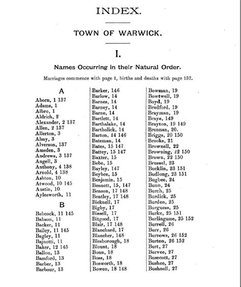 Marriage Records Rhode Island Arnold S Vital Records Of Rhode Island Ri 1636 1850