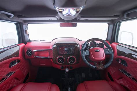 thar jeep interior dc design hammers a mahindra thar autodevot