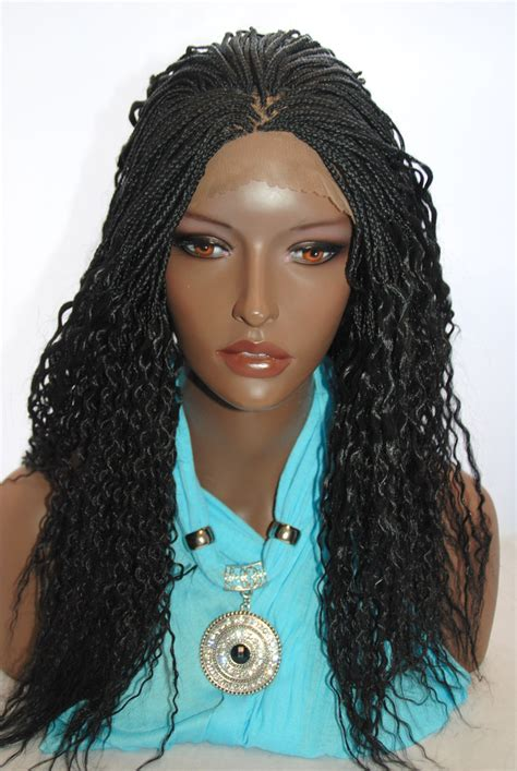 micro braided wigs braided lace front wig micro braids color 1 http www