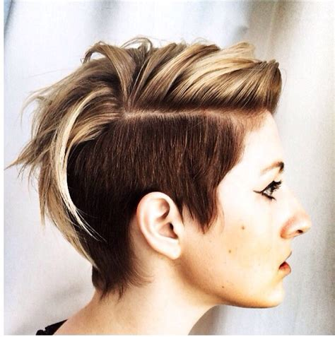colored undercut multi colored undercut pixies and dust hair cuts