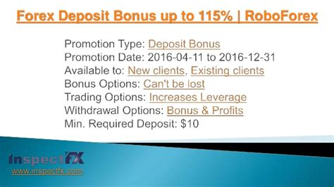 Forex Notes For Mba Students by Forex Deposit Bonus Up To 115 Roboforex