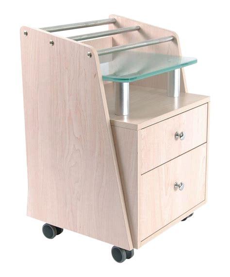 Top Pedicure by J A Glass Top Pedicure Cart