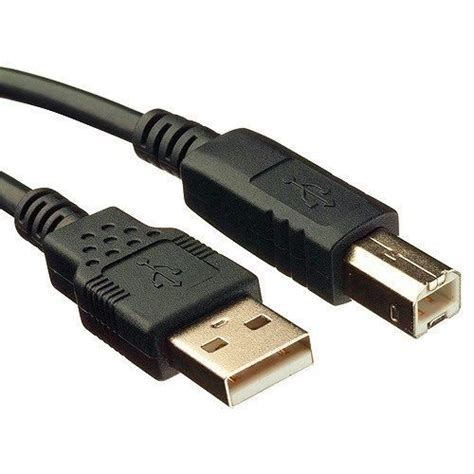 Kabel Printer Usb 2 0 A To B 5m 10ft usb 2 0 a b printer scanner cable for dell canon
