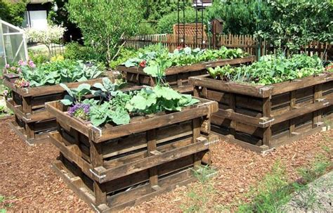 pallet garden bed 20 wonderful pallet ideas using pallets wood 101 pallets