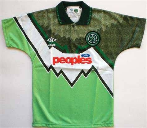Celtic Away 28 terrible football kits that are best left in the 90s