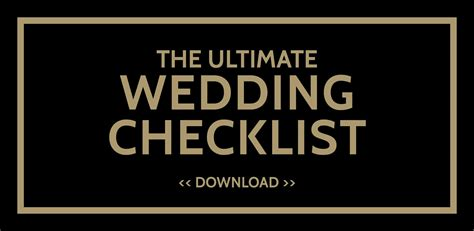 Wedding Checklist Notebook by The Ultimate Wedding Checklist The Wedding Notebook Magazine