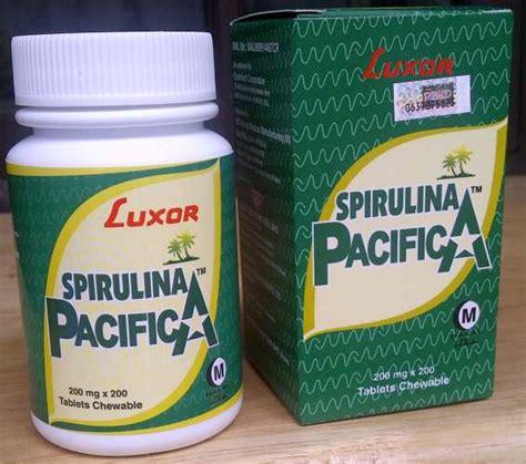 Obat Spirulina obat spirulina pacifica luxor murah