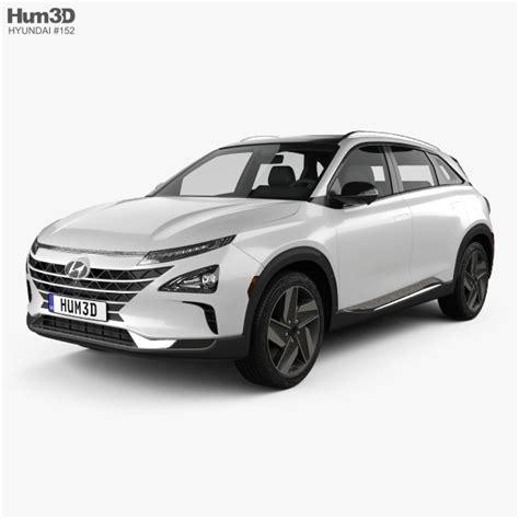 2019 hyundai models hyundai nexo 2019 3d model vehicles on hum3d