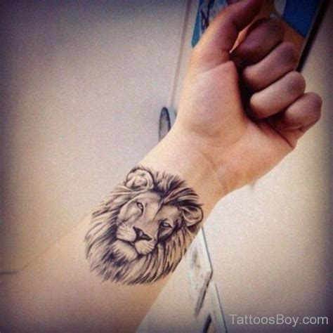 tattoo on wrist facing lion tattoos tattoo designs tattoo pictures page 16