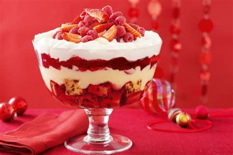 christmas trifle recipe taste com au