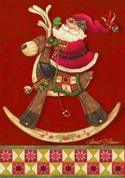 rockin santa christmas ringtones by janet stever on painting and painters