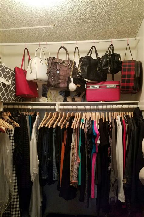 How To Organize Handbags In Closet by Best 25 Purse Organizer Closet Ideas On Purse