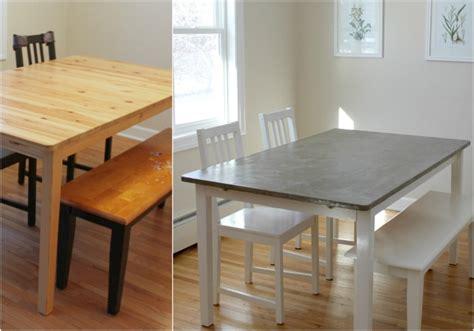 Tisch Neu Lackieren by Tisch In Betonoptik Selber Machen Ideen Mit Effektspachtel