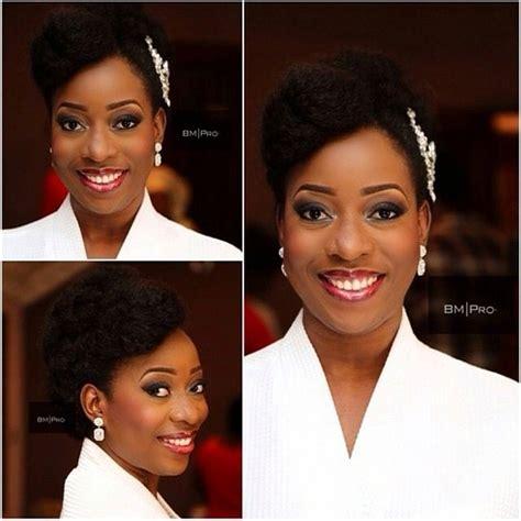 bella niger hair bella naija natural hair bride bridal styles pinterest