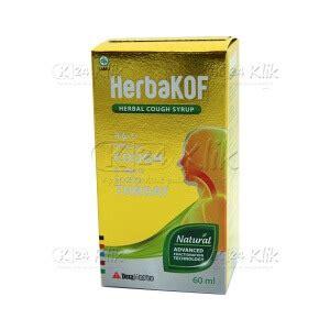 Obat Herbakof jual beli herbakof syr 60ml k24klik