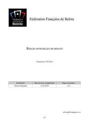 tableau valeur point belote a 6 document pdf