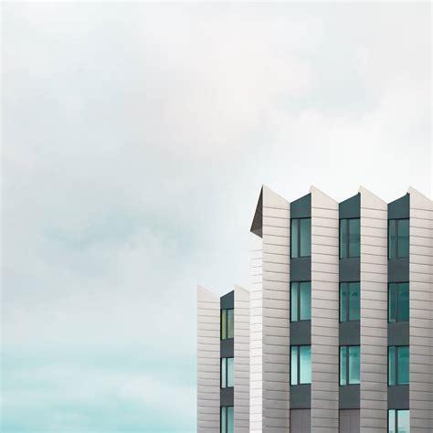 minimalist architecture minimalist blue architectural photographs fubiz media