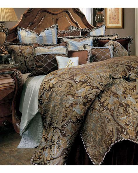 aico bedding set portofino ai prtfno brn