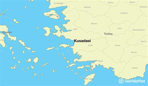 kusadasi city map where is kusadasi turkey kusadasi aydin map