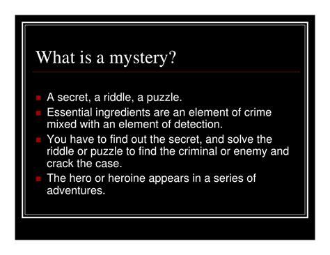 secret riddles reader s advisory mystery
