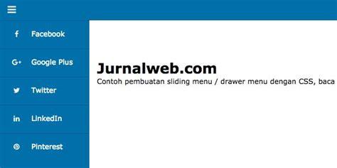 cara membuat header html dengan css tutorial cara membuat sliding menu dengan css dan html