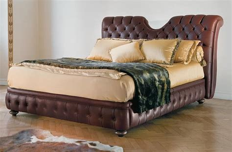 Quilted Headboard Bed Classic Bed With Headboard And Bedframe Padded Quilted Idfdesign