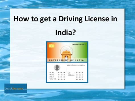 where to get license how to get a driving license in india