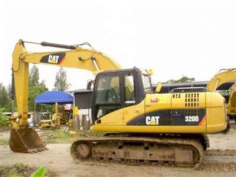 Monitor Excavator Cat 320d used caterpillar 320d crawler excavators year 2007 for sale mascus usa