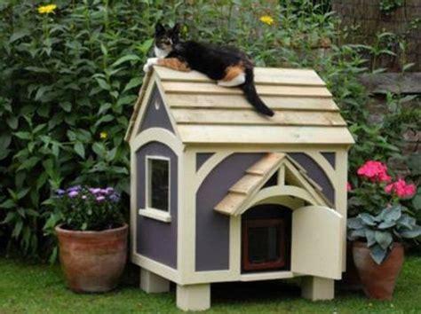 plans outdoor cat house plans  bookcase plans