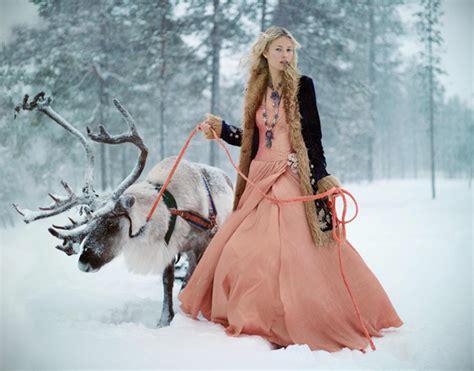 Irish winter wedding inspiration set in lapland on irish wedding blog