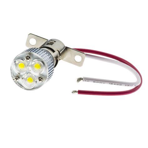led len 0 3 watt 1156 led boat and rv light bulb w removable lens 3 high