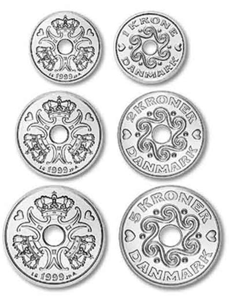 currency dkk krone coins