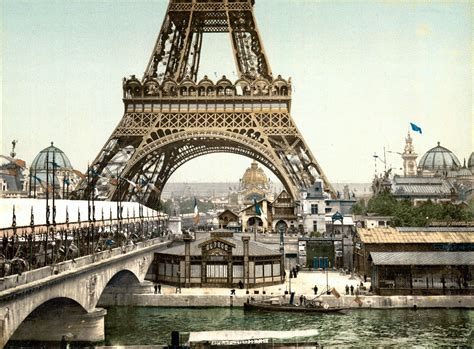 photographs of paris file eiffel tower and general view of the grounds