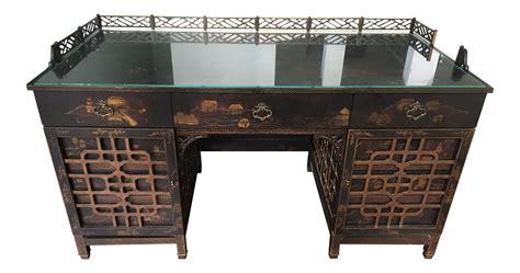 asian desk drexel heritage mandalay asian chinoiserie desk chairish