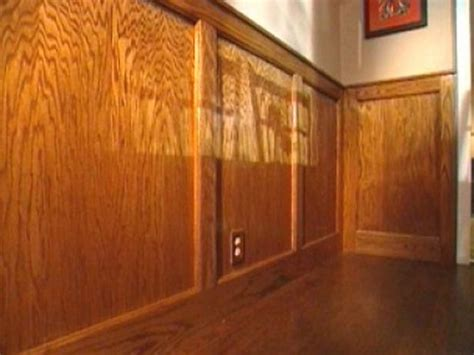 Plywood Wainscoting Sheeting how to cut stain and install wainscoting panels