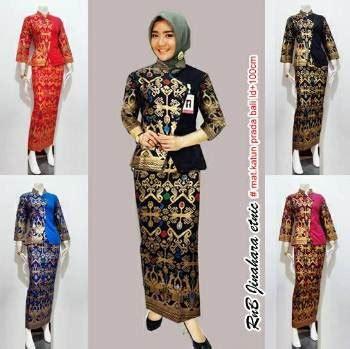 Setelan Kebaya Modern Dan Trendy 1 18 koleksi baju batik setelan wanita model terbaru