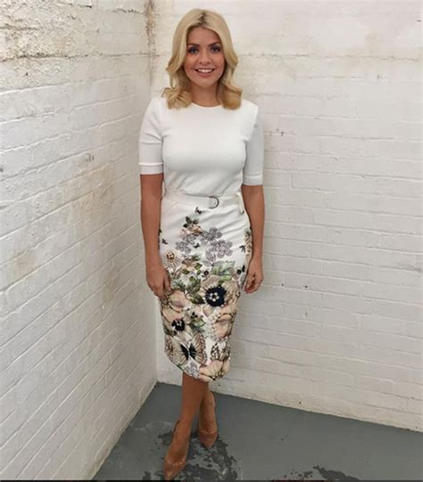 Floral Sofa by Holly Willoughby Skirt Star S Skin Tight Ted Baker
