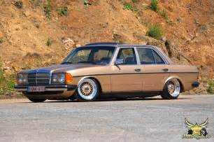 Mercedes 200d Mercedes W123 200d On Bbs Rs On Air Jdmeuro