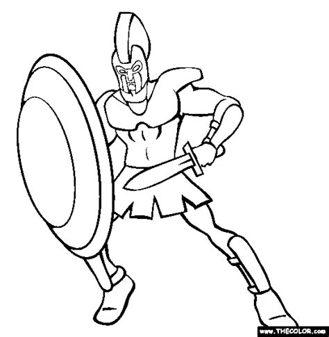 greek mythology online coloring pages page 1